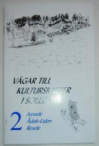 Vägar till kulturskatter i Sollefteå. Pris:10kr