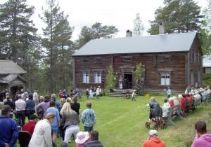 Gunilla Tjärnberg höll dagens tal