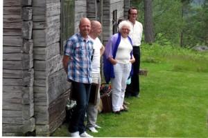 Jacke, Jerker, Hervor, Cissi (skymd) och Jörgen