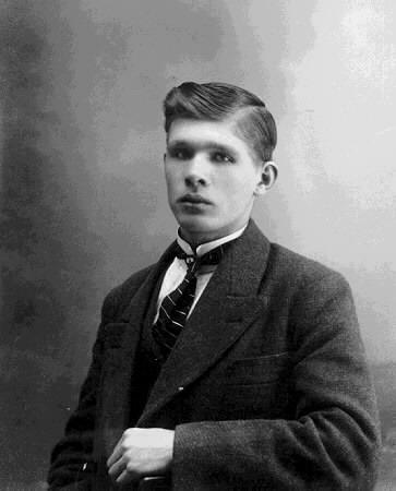 Jonas Sjödin i yngre dagar