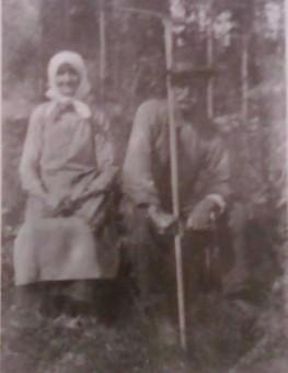 Jon Abrahamsson och Kristina