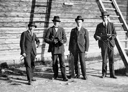 Musikanter í Vallen 1920